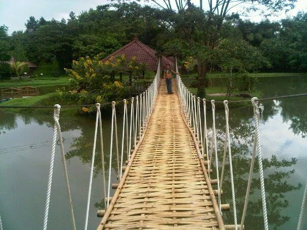 Telaga Cikeas, Tempat Outbound di Sentul