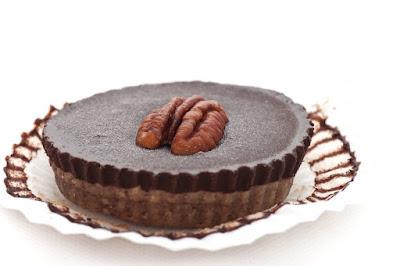 Mini Pekan raw cakes