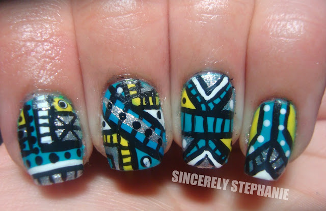 tribal-nail-art