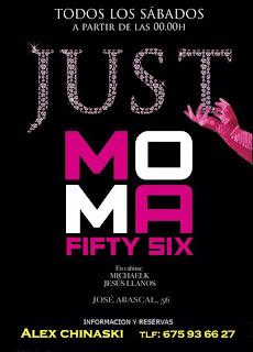 MOMA Fifty Six Sábado 14 de septiembre