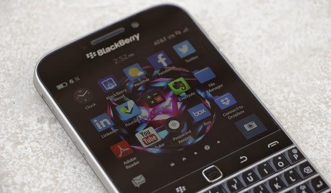 Blackberry Classic - O Retorno