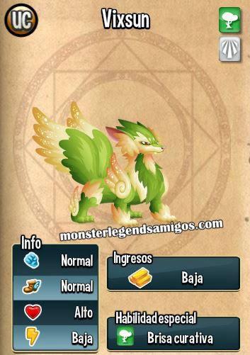 imagen de las caracteristicas de vixsun