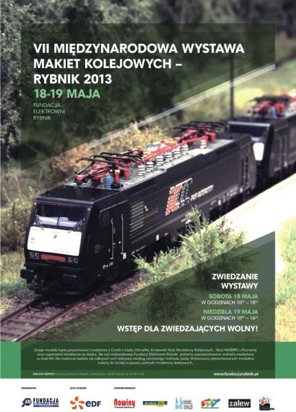 VII Międzynarodowy Festiwal Makiet Kolejowych w Rybniku (18-19 maja 2013)