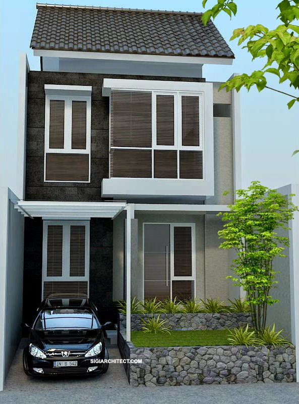 Desain Rumah Minimalis 2 Lantai Terbaru