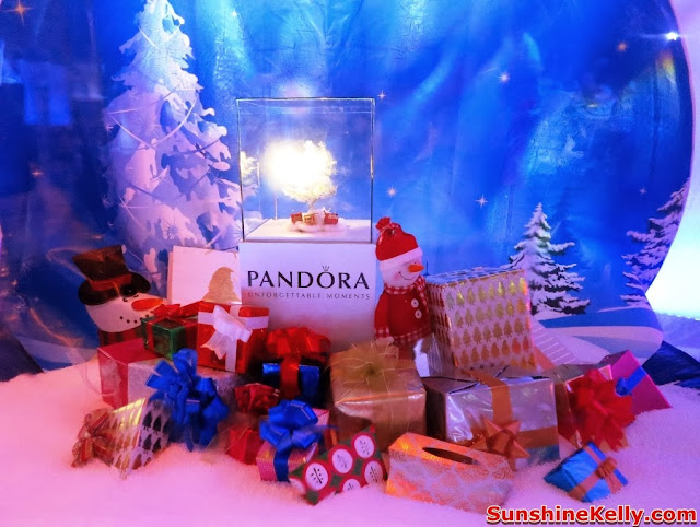 Pandora Christmas 2013 Collection, Pandora Malaysia 3rd anniversary, westin hotel kl, pandora, charms, bracelet, pendant, snowflake charms, necklace, christmas charms