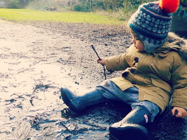 Infant Hunter wellies