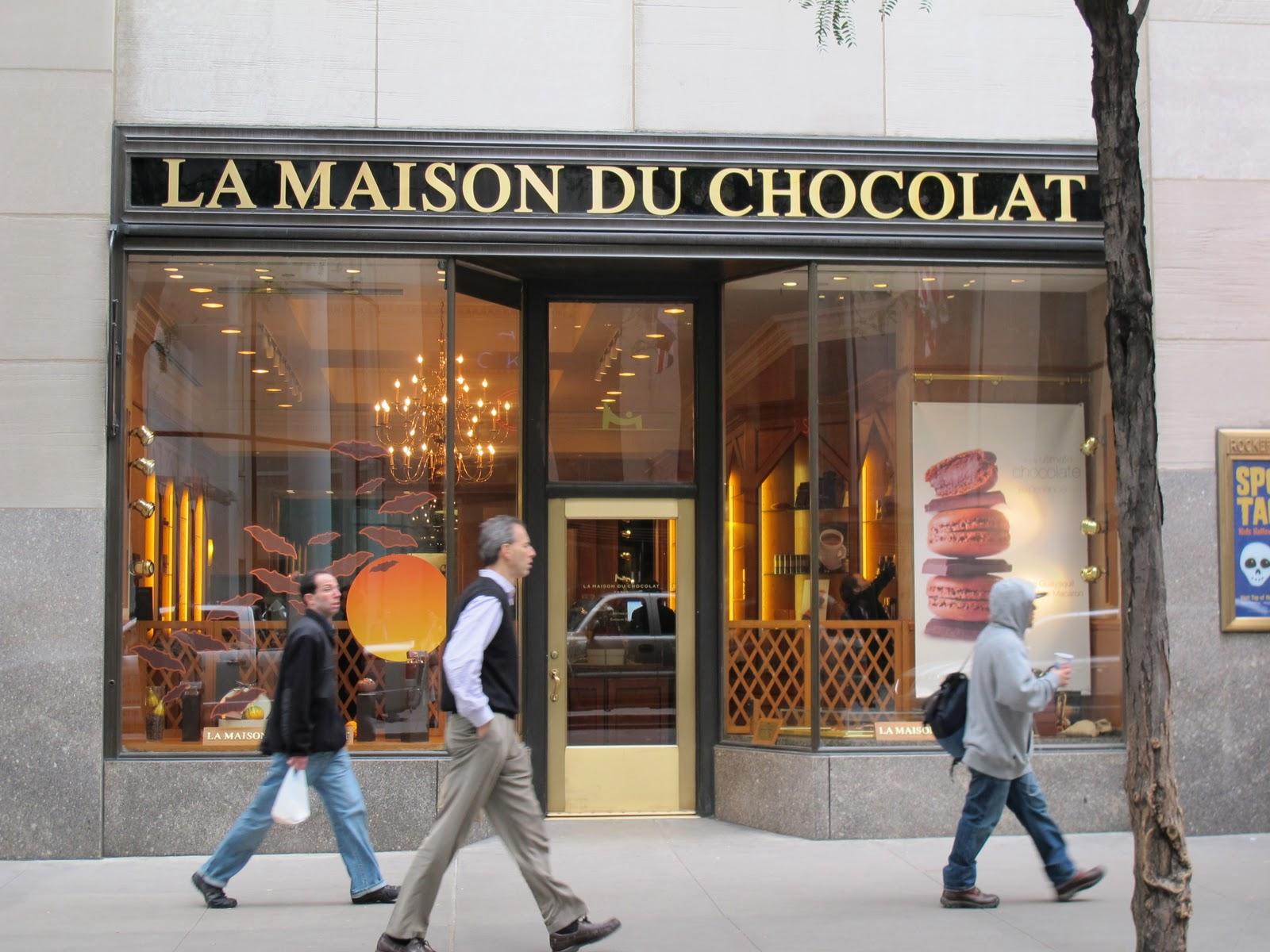 the hopeful traveler rewind nyc la maison du chocolat