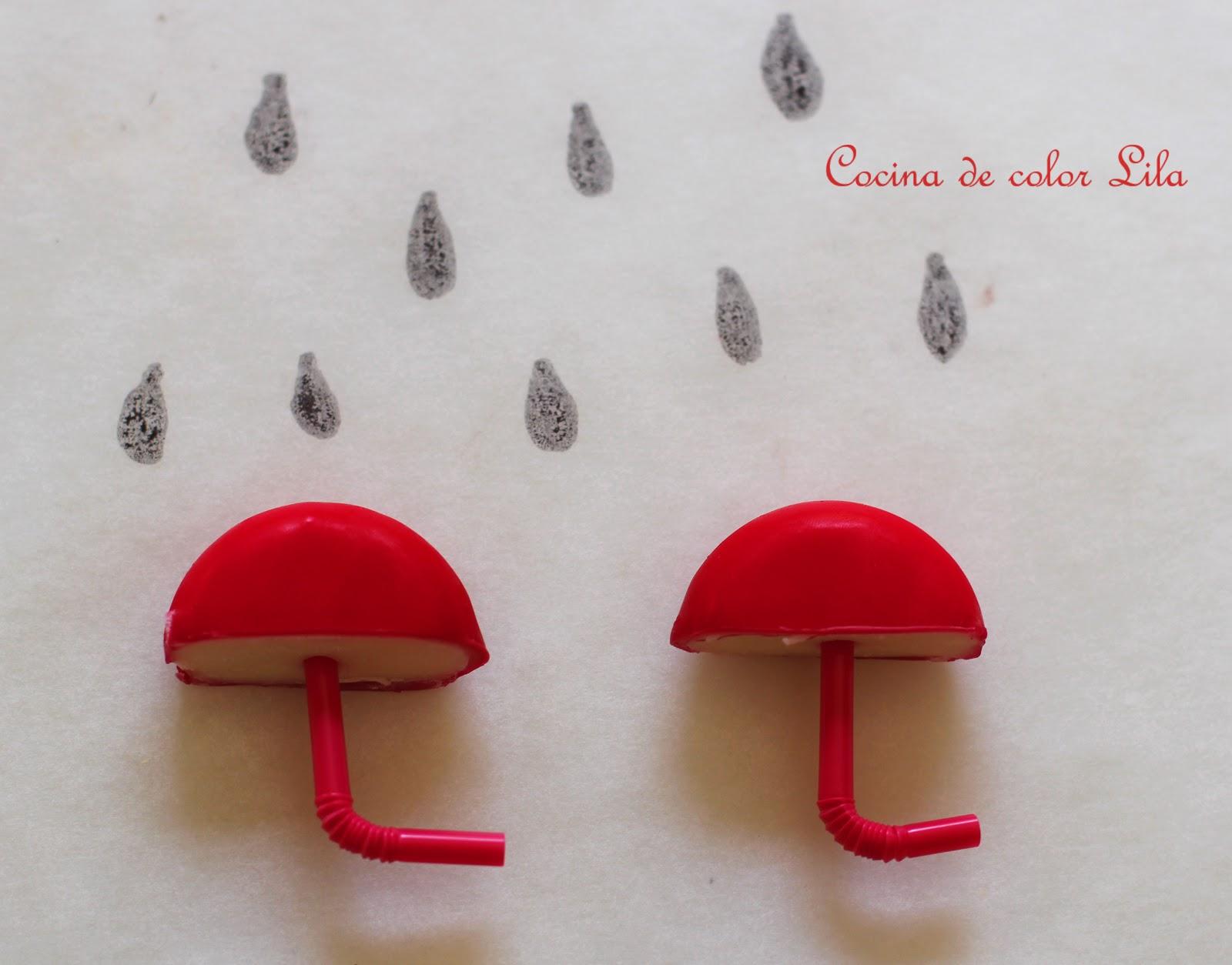 Cocina de color lila paraguas minibabybel - Cocina color lila ...