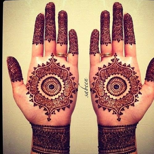 latest bridal mehndi design for hands