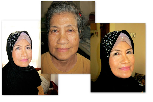 Makeup for mature lady