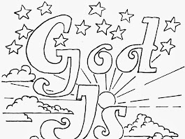 God Loves Me Coloring Pages Free