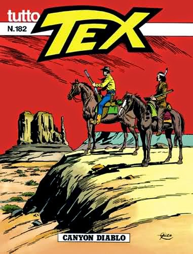 Il Saguaro Park e il Grand Canyon , scenari delle avventure di Tex Willer