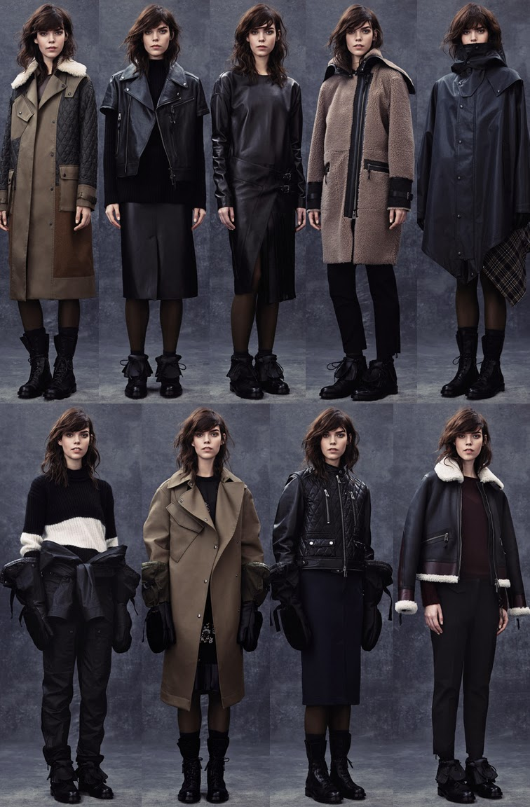 Belstaff fall winter 2014 presentation collection, look book, FW14, AW14, Meghan Collison model, LFW, London fashion week