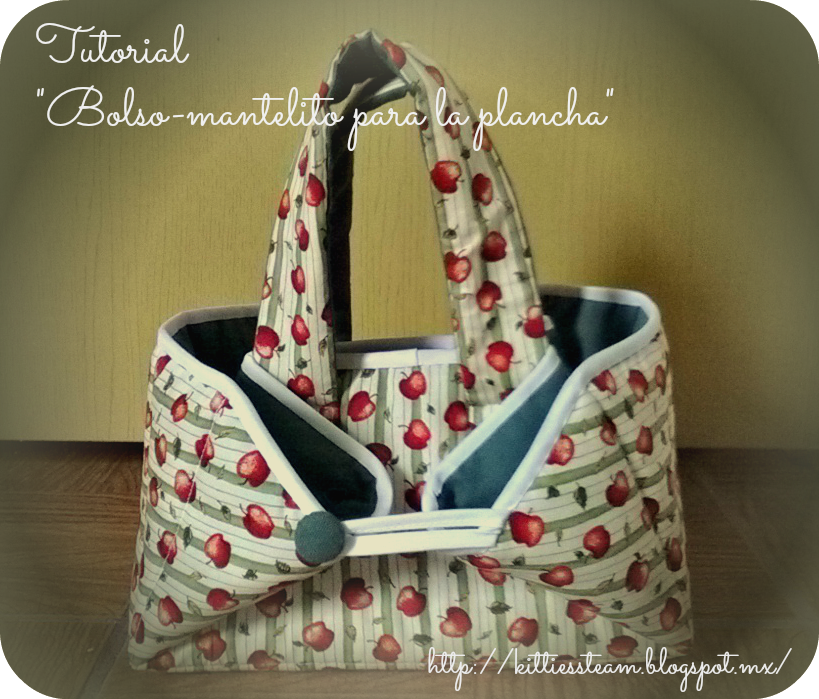 Kitties s team tutorial bolso mantelito para la plancha - Labores de patchwork paso a paso ...