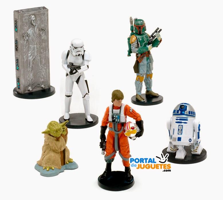figuras star wars v el imperio contraataca disney store
