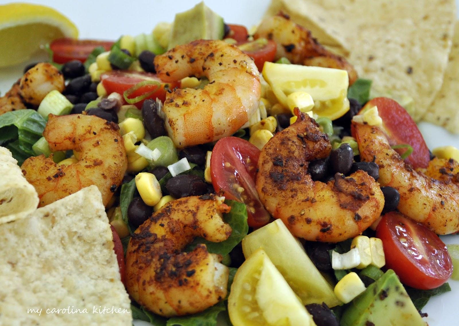 salad mango and black bean quinoa salad sauteed shrimp and black bean ...