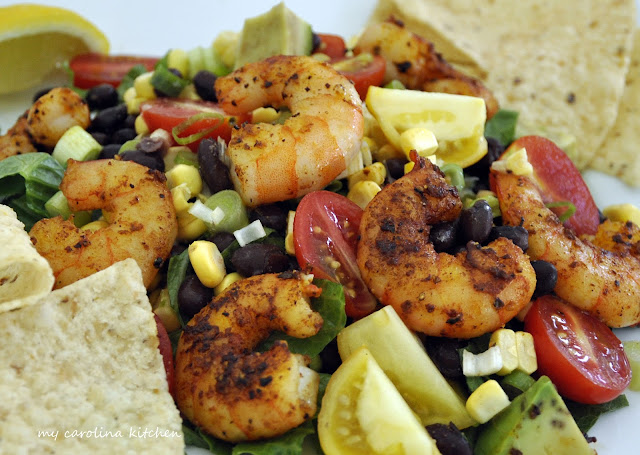 Spicy Black Bean, Corn and Shrimp Salad – a simple supper, ready in ...