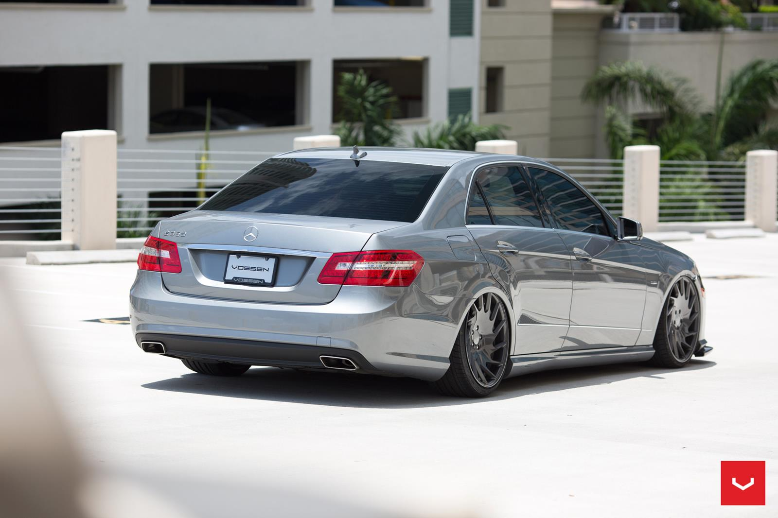 Mercedes Benz W212 E350 On Vossen Vle1 Benztuning