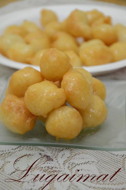 luqaimat or dumplings