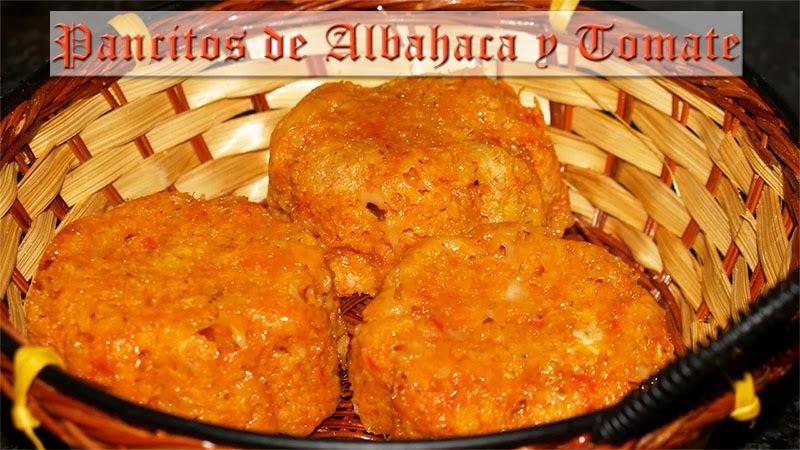 panecillos de albahaca y tomate dukan