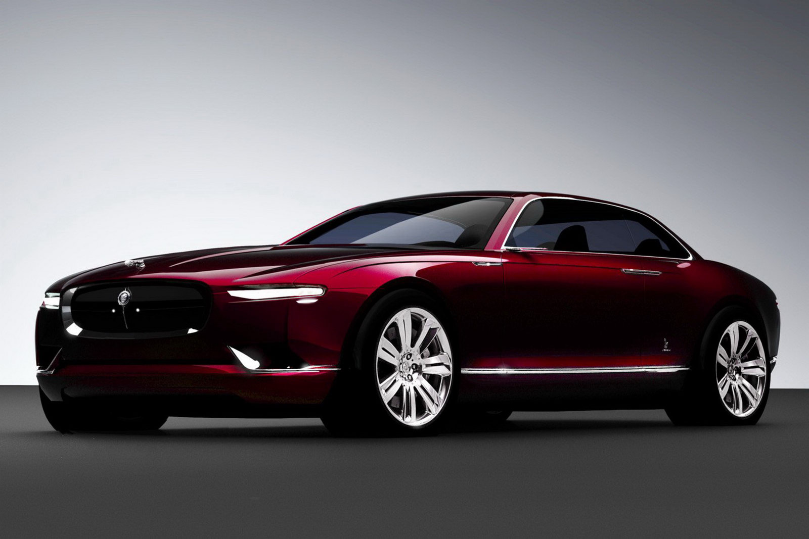 Bertone Jaguar B99 Draw To Drive