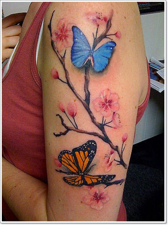 21 ENCHANTING BUTTERFLY TATTOOS