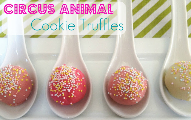 Life With The Williams: Circus Animal Cookie Truffles