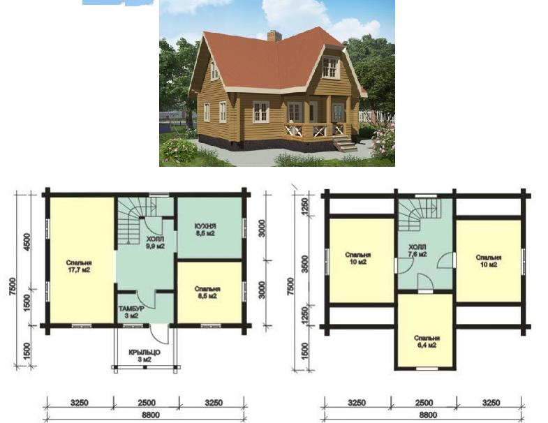 Viviendas unifamiliares arquitectura y construccion for Planos para viviendas