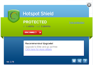 Hotspot Shield protected