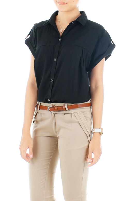 Bond Girl Military Shirt