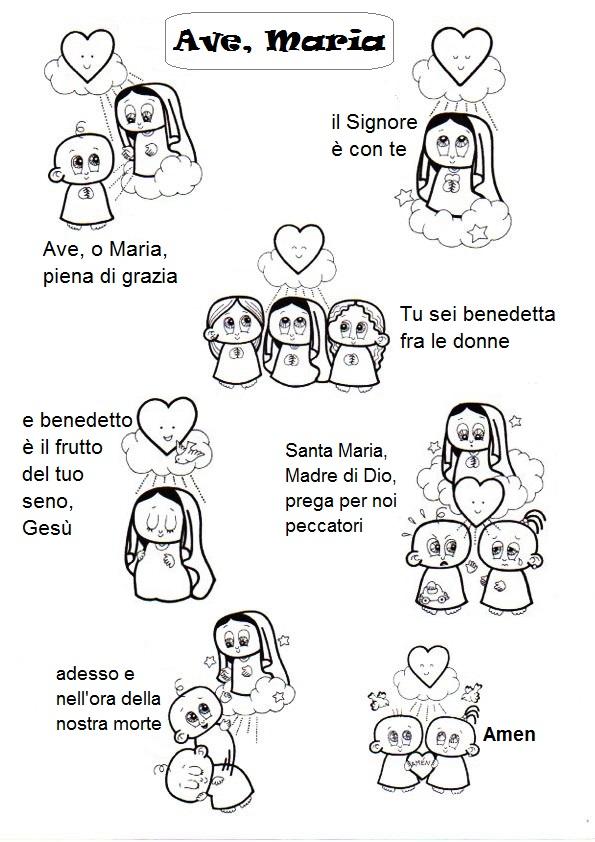 El Rincón de las Melli: Ave Maria (italiano)