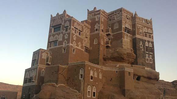 رموز العمارة اليمنية الرائعة