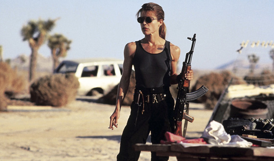 11 Most Bad-Ass Female Characters From Movies!