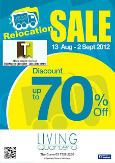Living Quarters Relocation Sale 2012