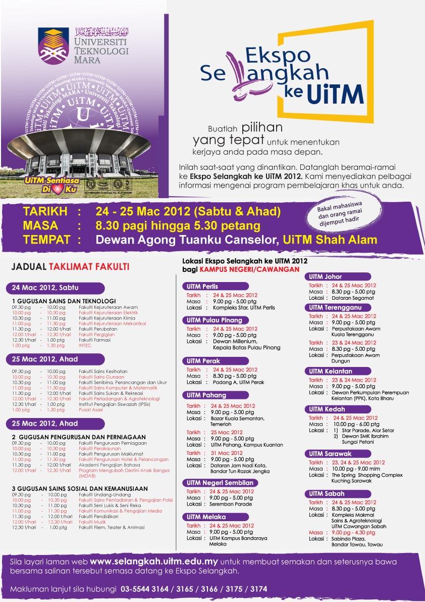 Program Ijazah Sarjana Muda Yang Ditawarkan Di Uitm Kelantan Website Fasralta