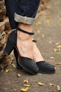 1940s Pinup Platforms #vintage #shoes #40s #heels #pinup