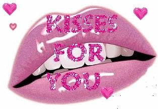imágenes con frases de besos