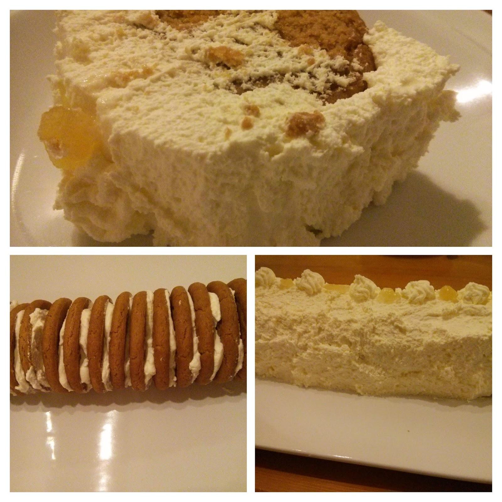 Ginger biscuit cake recipe
