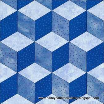 Moore About Nancy: August 2013 : tumbling blocks quilt pattern template - Adamdwight.com
