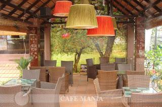 Cafe Mania Gò vấp cà phê sân vườn 5