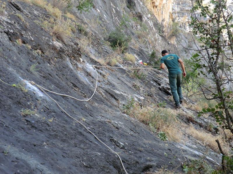 Cuaderno de monta a 09 07 2011 colocaci n pasamanos y - Pasamanos de cuerda ...
