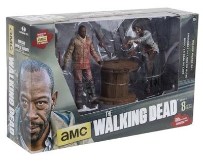 The Walking Dead Morgan & Impaled Walker Action Figure Box Set by McFarlane Toys