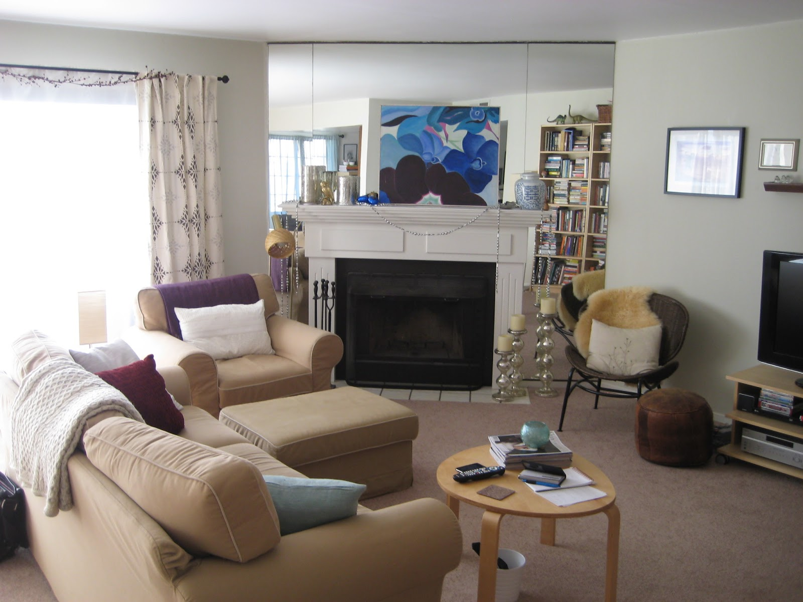 Very Impressive portraiture of Diving for Pearls: Condo Makeover: Part 2 with #2C426F color and 1600x1200 pixels