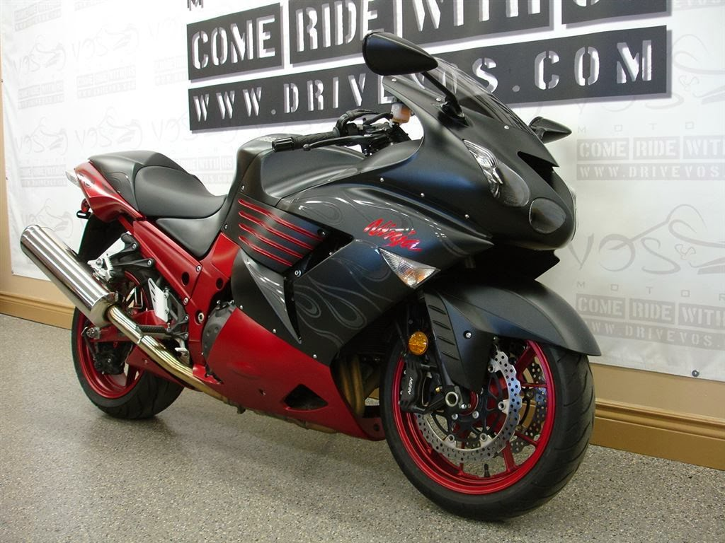 Black & Red Model bike