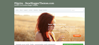 Pilgrim Blogger Template is a wordpress to blogger convereted blogger template