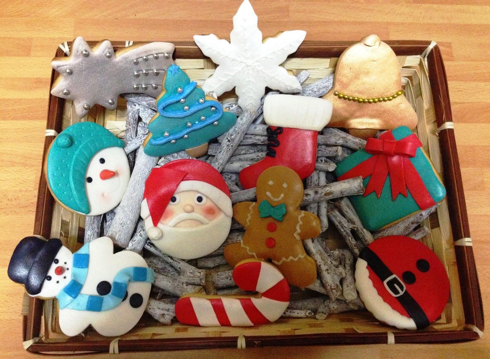 galletas Navidad; galletas decoradas Navidad; Navidad; galletas fondant Navidad