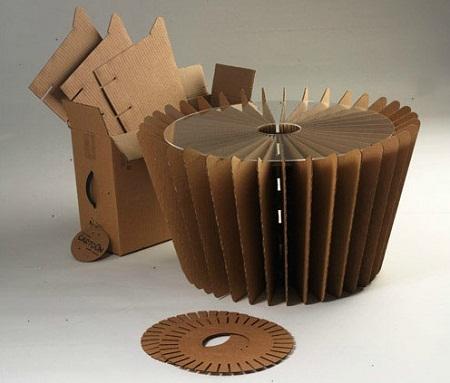 Cosas con carton corrugado imagui - Mesas de carton ...