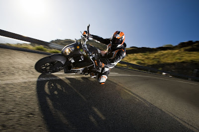 2011 KTM 990 Super Duke In Action