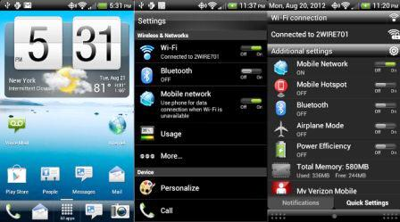 Android 4.3 ROM Leaks for the HTC One test