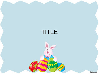 Free download Easter PowerPoint template 005A